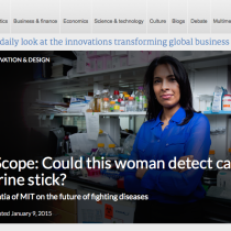 A urine test for cancer? This woman has invented it.